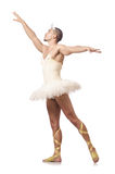 Man in ballet tutu Royalty Free Stock Image