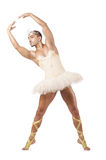 Man in ballet tutu Royalty Free Stock Photos