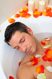 Man bath Royalty Free Stock Photos