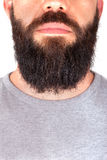 Man with beard. Detail of man with beard Stock Photos