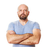 Man with beard. An image of a handsome man with a beard Stock Photos