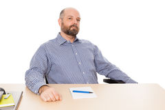 Man with beard Stock Photos