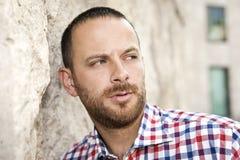 Man with beard Royalty Free Stock Image