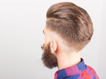 Man with beard and mustache Stock Images
