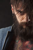 Man with beard Stock Images