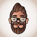Man with beard Royalty Free Stock Photo
