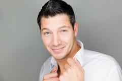 Man beauty care Royalty Free Stock Photos
