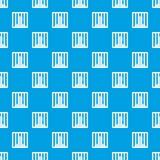 Man behind jail bars pattern seamless blue Royalty Free Stock Photography