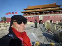 Selfie in Beijing Royalty Free Stock Image