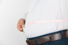 Man belly Royalty Free Stock Photos
