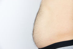 Man belly Royalty Free Stock Photo