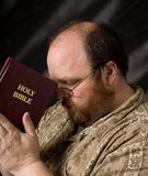 Man with bible Royalty Free Stock Images