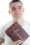 Man with the Bible Stock Photos