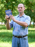 Man with a Bible in his hand Stock Image