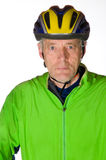 Man in Bicycle tenue Royalty Free Stock Photography