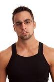 Man in Black Shirt Royalty Free Stock Photo