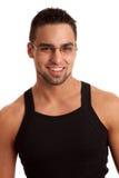 Man in Black Shirt Royalty Free Stock Images