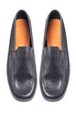 Man black shoes Stock Photography