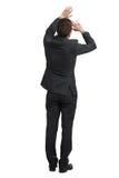 Man in black suit Stock Photo