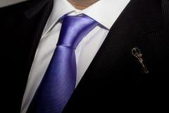 Purple Tie Black Suit Royalty Free Stock Photo - Image: 2135225