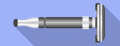 Man blade razor icon, flat style. Man blade razor icon. Flat illustration of man blade razor vector icon for web design stock illustration