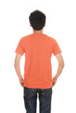 Man with blank t-shirt Royalty Free Stock Photography