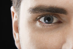 Man With Blue Eye Royalty Free Stock Image