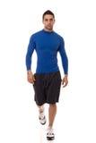 Man in Blue Shirt Royalty Free Stock Photos