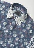 Man Blue shirts closeup. man shirts closeup Stock Image