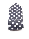 Man blue tie close-up. Royalty Free Stock Images