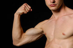 A man body. Photo of a men body Royalty Free Stock Images