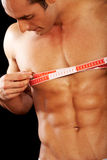 Man - body fitness Stock Photography