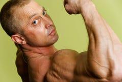 Man bodybuilder Royalty Free Stock Photography