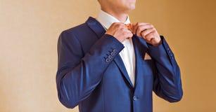 Man in a bow tie Stock Photos