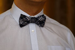 Man with bow tie Stock Photos