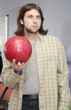 Man by bowling Stock Photography