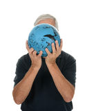 Man Bowling Royalty Free Stock Photography
