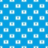 Man boxer briefs pattern seamless blue. Man boxer briefs pattern repeat seamless in blue color for any design. Vector geometric illustration Stock Photo