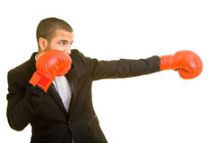 Man boxing Stock Photos