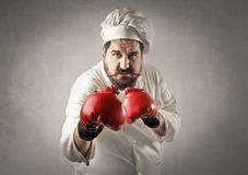 Man boxing Royalty Free Stock Photos