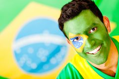 Man from Brazil Stock Photography