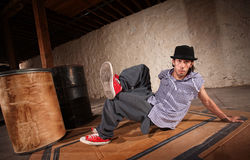 Man Break Dancing Royalty Free Stock Image