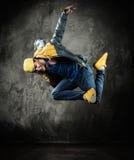 Man break-dancing Stock Photos