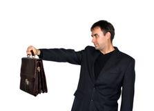 Man with a briefcase Stock Photos