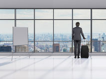 Man with briefcase Royalty Free Stock Image