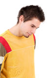 Man in bright casual shirt Royalty Free Stock Image