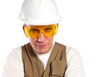 The man, the builder Royalty Free Stock Photo