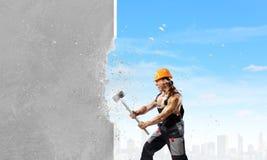 Man builder Stock Photography