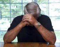 Man Burdened Stock Photo