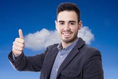 Attitude positive Stock Photo
